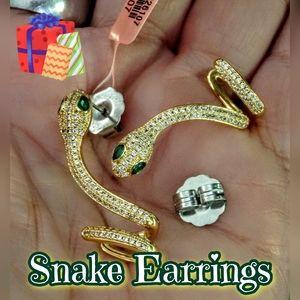 Jewelry - NEW Snake Earrings